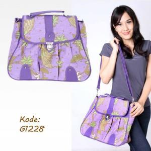 model tas batik